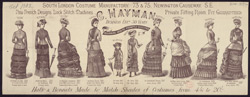 Brochure for C. Hayman, South London Costume Manufactory 5190a (front)